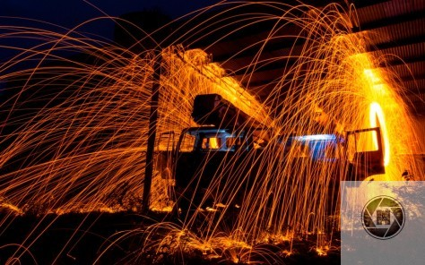 A Steel Wool sample from our night out in the old Drogheda Quarry